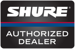 Shure Authorized Dealer