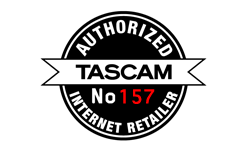 Tascam Authorized Dealer